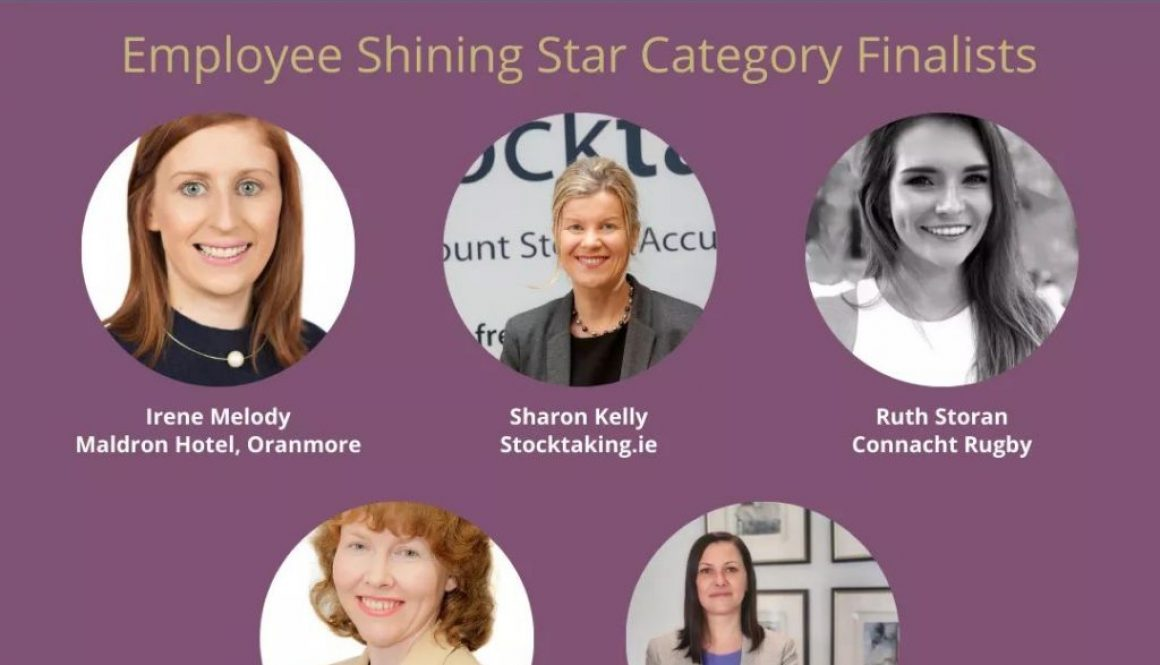 Finalist in Business Woman of the Year