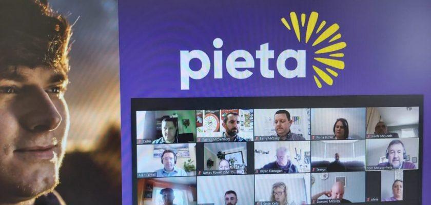 Pieta Presentation to Stocktaking.ie Team