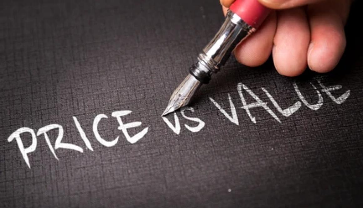 Price v.s Value